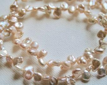Pearls - Pink Teardrops 10x7mm