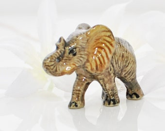 Elephant Pendant  - Huey the Elephant Necklace - Elephant Jewelry - Lucky Elephant - Animal Jewelry - Boho Necklace - Nature Lover Gift