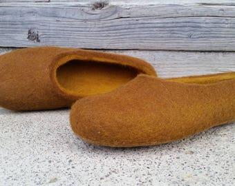 Felt slippers/Women wool felt slippers/felted home shoes/felted slippers/eco slippers/christmas gift