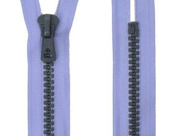 Two-tone closure, detachable 55 cm