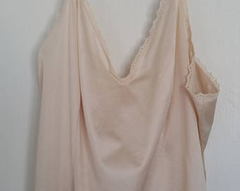 1980's JC Penney Beige Size 36 Camisole