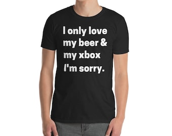Beer and Xbox Tee