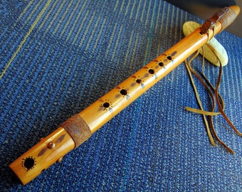 Native American Style Concert Flute Key of F.