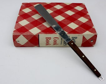 Vintage-Cake Decorating Tool-Cake Decorating-Flint Knife-Spatula-Spreader-Housewares-Baking Tool-Cookie Decorating-Christmas Cookies-Icing