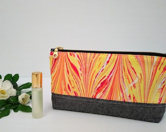 Cosmetic bag, make-up pouch, travel bag, toiletry bag, nappy bag  - Ebru