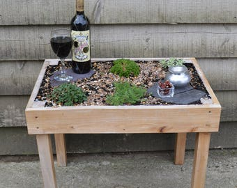 Living Table only (without plants)
