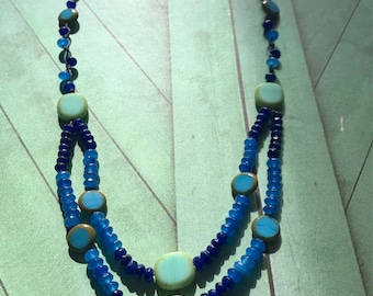 Beachy Blue Necklace