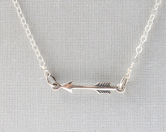Arrow Necklace • Delicate Layering Necklace • Arrow • Sterling Silver Arrow Necklace • Dainty Silver Necklace • Gift For Best Friend