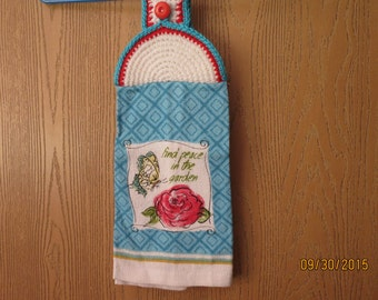 Rose Garden Kitchen Towel