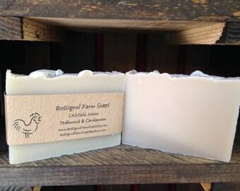 Teakwood & Cardamom Soap Bar