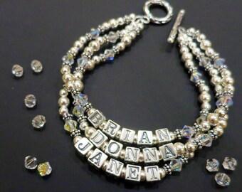 Personalized Mother Bracelets