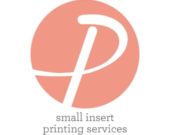 Small Insert Printing Services
