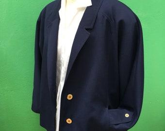 Jacket VTG 90s | Made in Italy | Wool Jacket | Oversize Jacket |