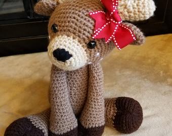 Deer Amigurumi - Crochet Deer - Deer Stuffed Animal