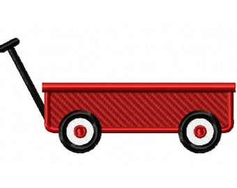 Wagon...Instant Download... Pattern Fill Machine Embroidery DESIGN NO. 791