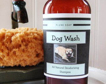 DOG WASH All Natural Deordorizing Shampoo 8 oz