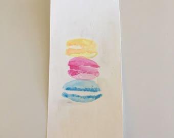 Macaroons Watercolor