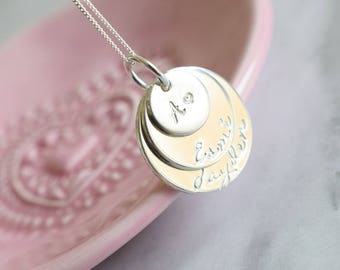 on engrave product sterling text heart engraved here with silver message symbols your pendant this customise customised