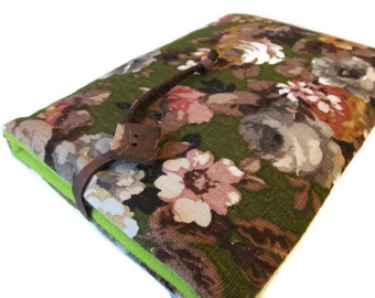 ipad mini case / Nexus 7 / Kindle / ereader case/  Vintage Floral Cover