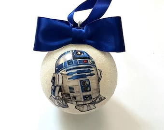 Star Wars R2D2 Christmas Tree Baubles/Decorations