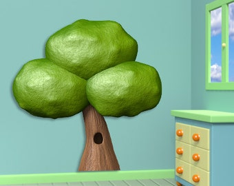 Wall decals tree A328 - Stickers arbre A328