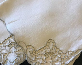Beautiful vintage cloth napkins