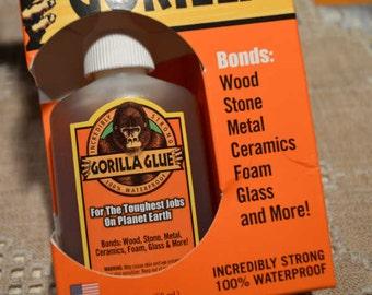Adhesive Gorilla Glue  2-Ounce Bottle