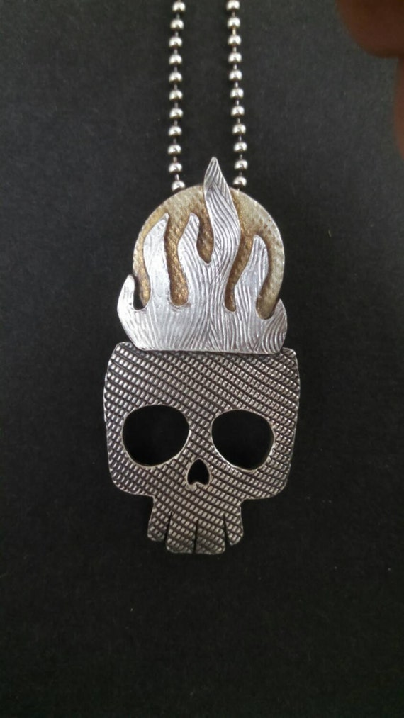 Flaming Skull II