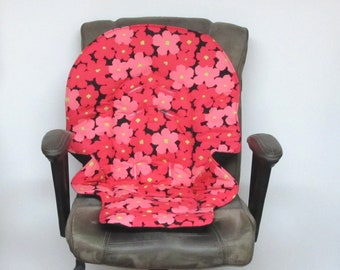 replacement baby chair pad, Duodiner Graco or Graco Blossom, baby accessory, kids furniture high chair cushion chair pad, hot pink and pink