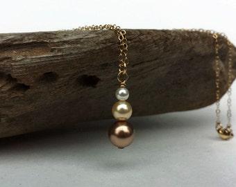 Swarovski Pearl Simple Drop Pendant