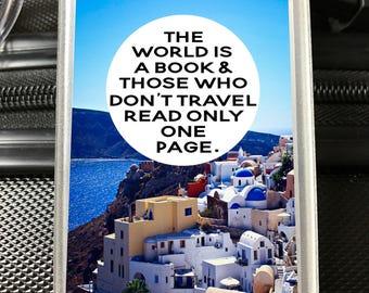 Luggage Tag //Bag Tag // Travel Bag Tag // Travel Gifts // Gifts for Travelers // Bon Voyage Gifts // Holiday Bag Tag // Personal Bag Tags