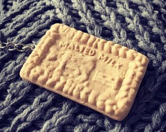 Malted Milk Biscuit keyring