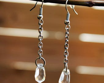 Begonia earrings