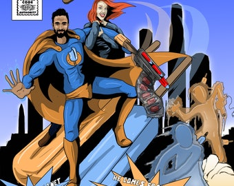 Custom Comicbook Cover