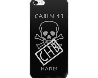 Camp Half-Blood Inspired Nico di Angelo iPhone Case