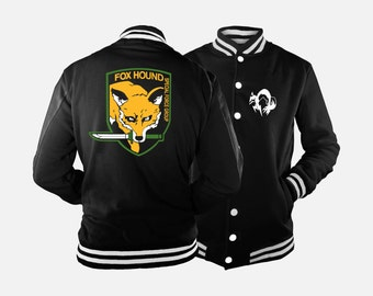 Foxhound Varsity Jacket inspired by Metal Gear Solid