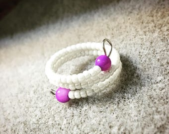 Size 6 memory wire ring