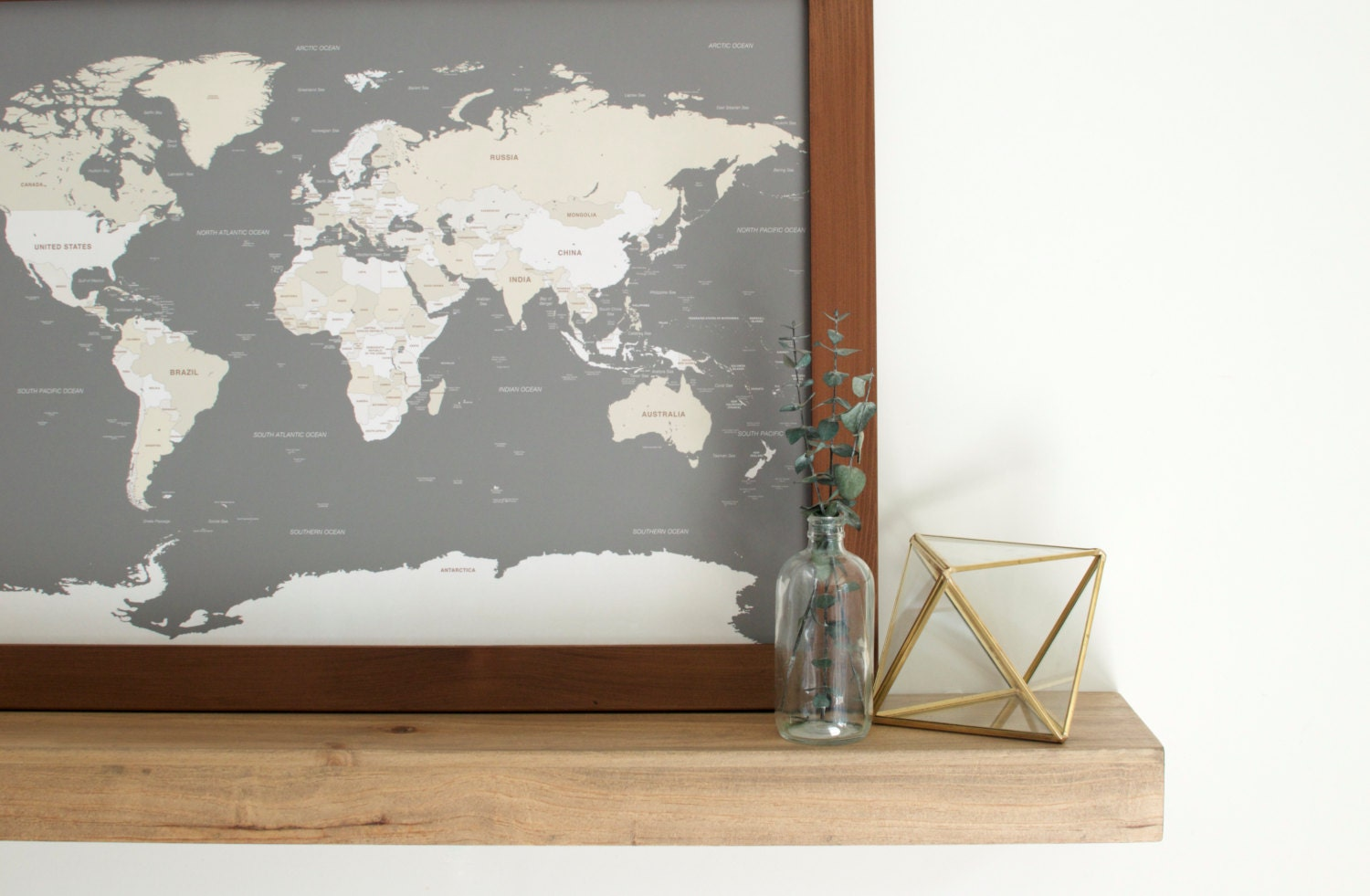 World map push pin travel map world map wedding travel map zoom gumiabroncs Choice Image