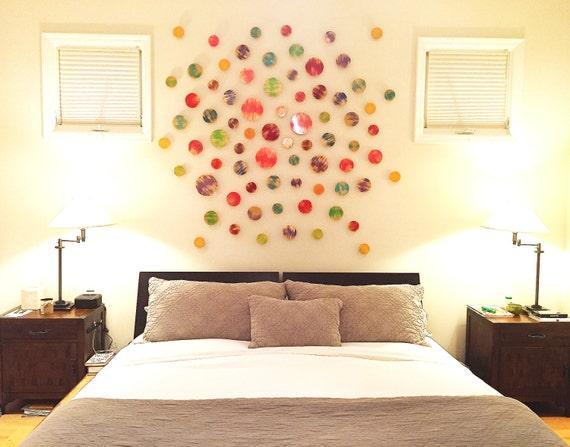 Wood Wall Art Wall Sculpture Over Bed Art 3D Wall Art