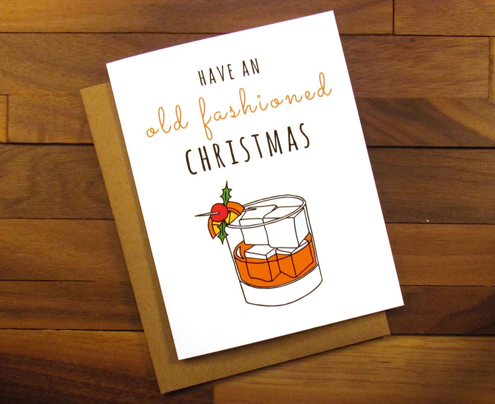 Funny christmas card old fashioned christmas mad men zoom kristyandbryce Image collections