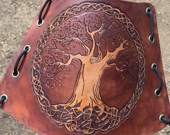 Celtic Tree of Life Knot Arm Guard-Bracers