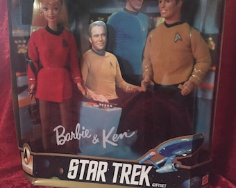 Out of this world Ken and Barbie collectibles from Star Trek and The X-Files