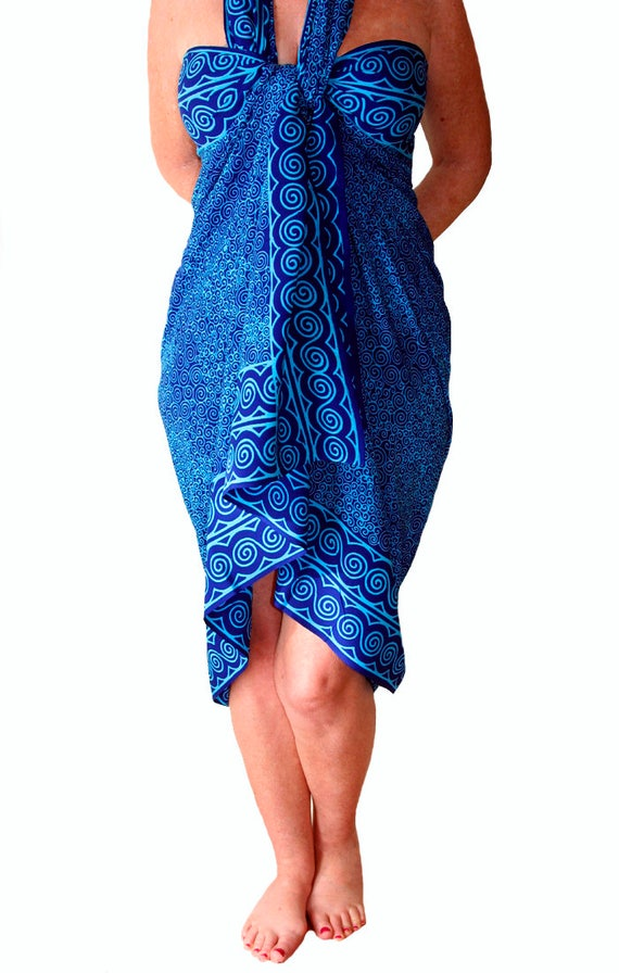 Plus Size Womens Clothing Sarong Dress Or Skirt Extra Long