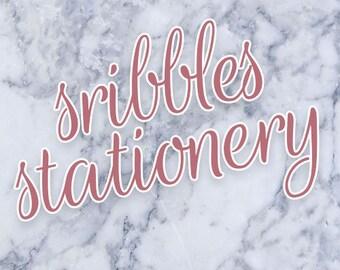 ScribblesStationery // do not buy