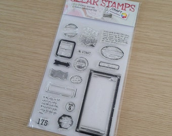 Clear stamps (SA03)