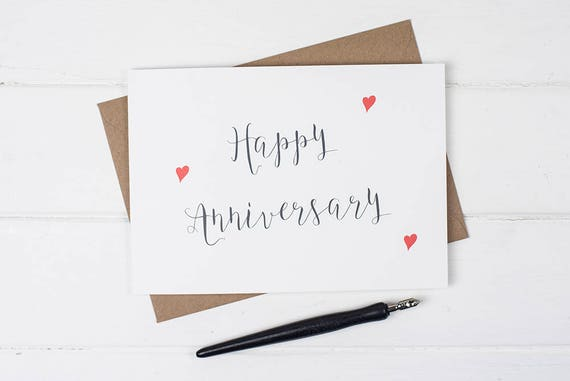 What Is The Gift For 16 Year Wedding Anniversary: Happy Anniversary Anniversary Card Congratulations On Your
