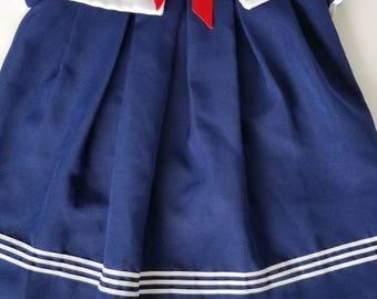 Vintage Sailor Dress Size 6