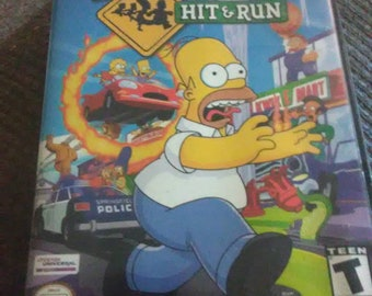 The Simpsons hit and run Nintendo gamecube