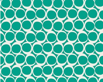 Spearmint Float Circles From Art Gallery's Round Elements Collection - Choose Your Cut