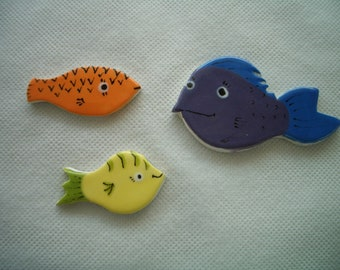 FF2 - FANTASTIC Little FISH - Ceramic Mosaic Tiles
